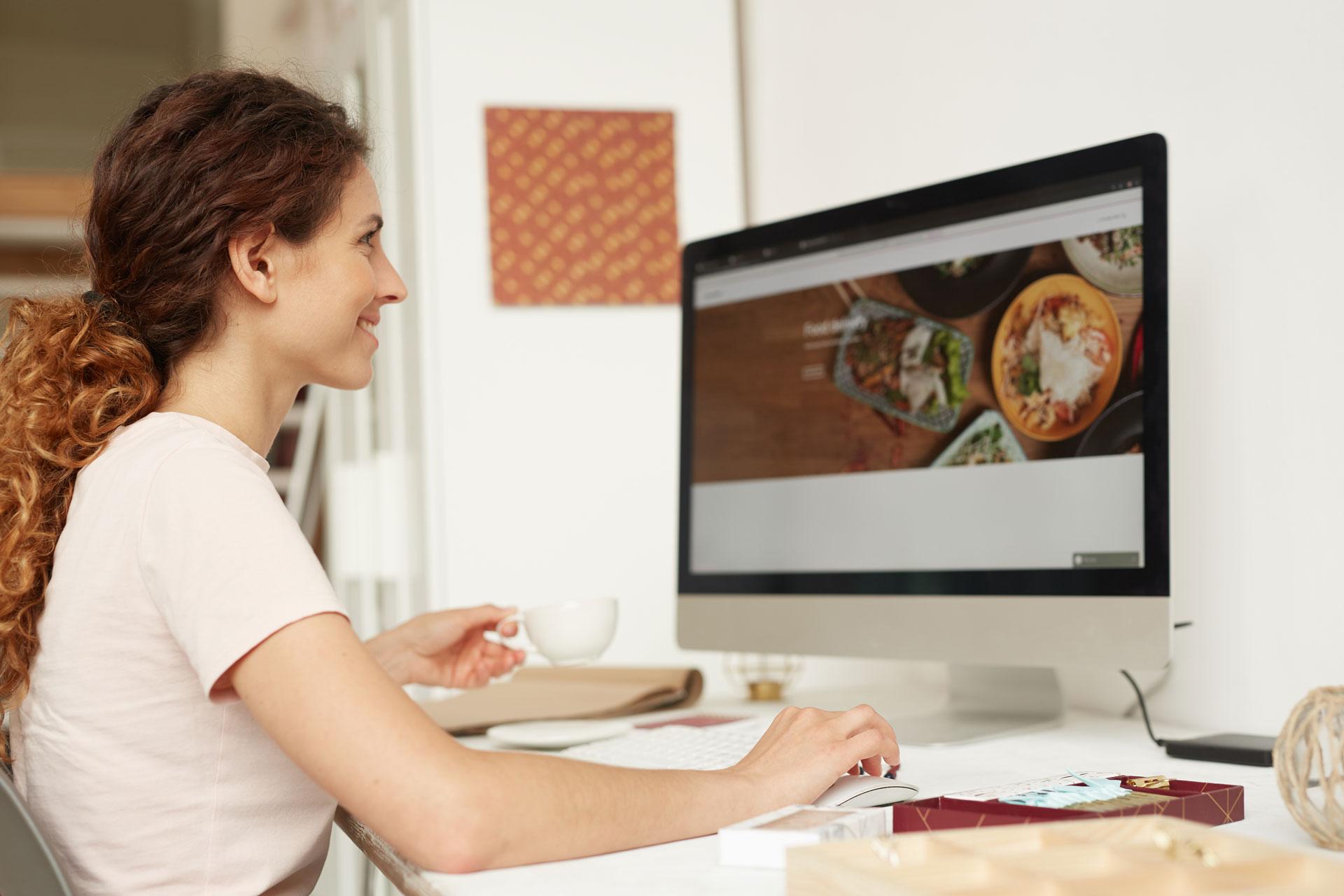 Angebotsbild-Webdesigner